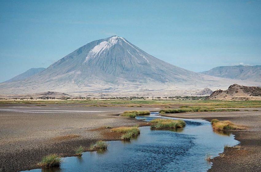 El extraño volcán de Tanzania