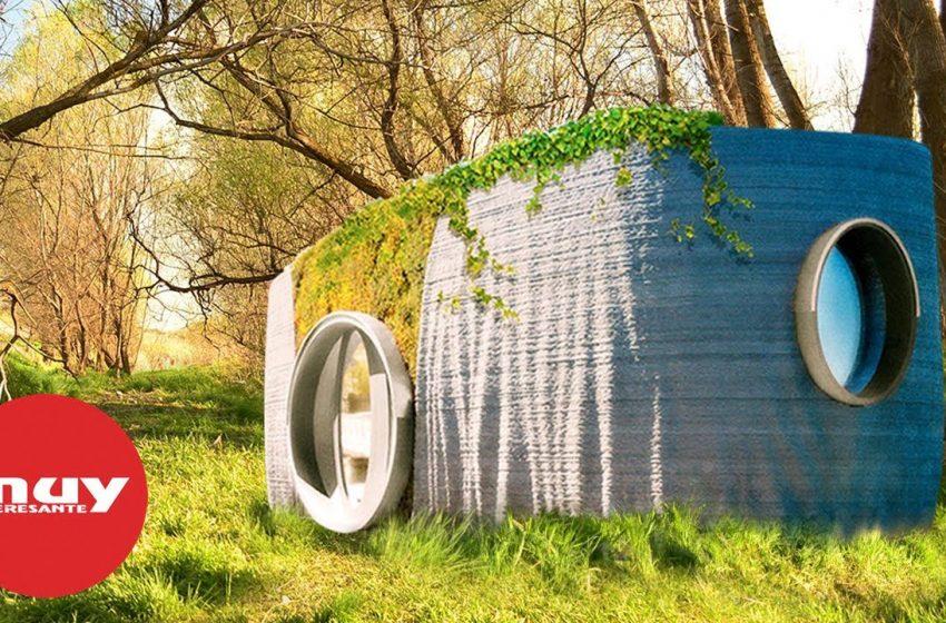 Presentan la primera casa impresa en 3D en apenas 48 horas