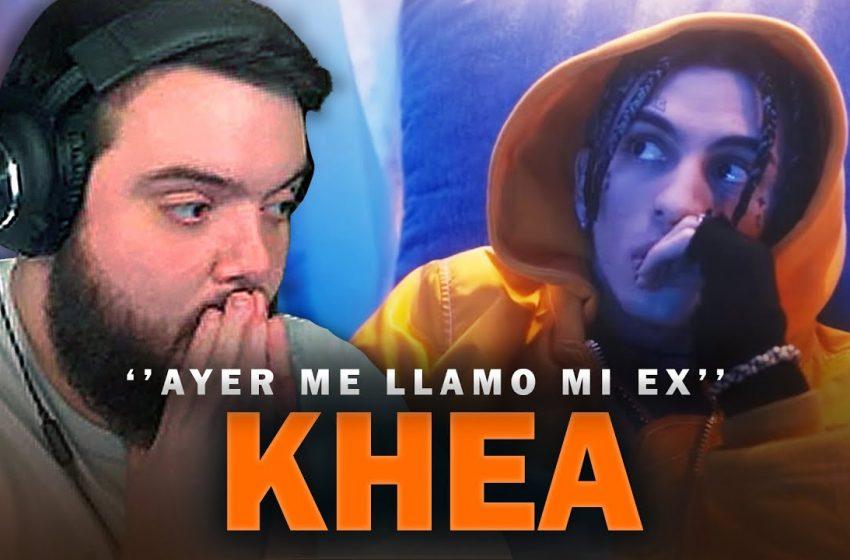 REACCIONANDO A AYER ME LLAMÓ MI EX – KHEA