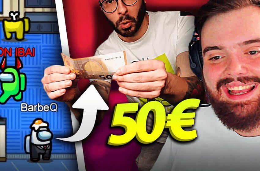 LE DOY 50€ A MI AMIGO PARA QUE NO ME DELATE | AMONG US CON COURTOIS, GREFG, CRISTININI, REVEN, BARBE