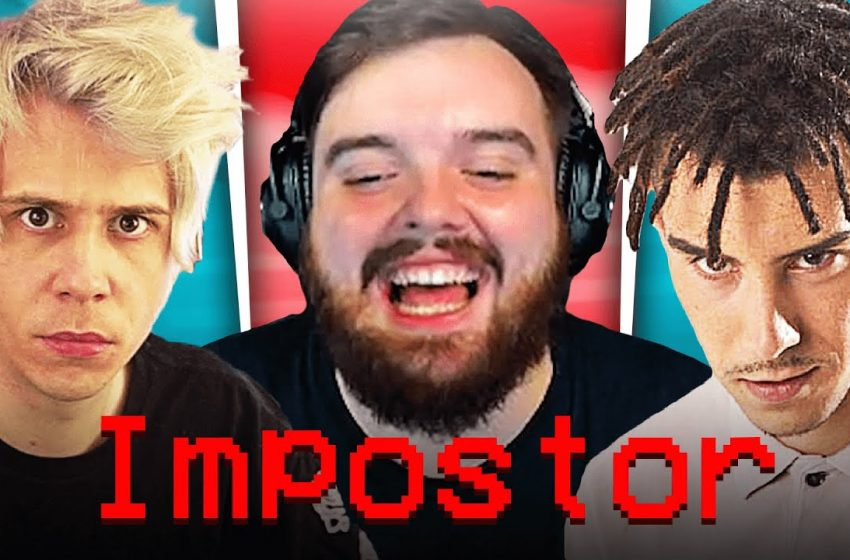 ME CARGO A RUBIUS Y A KIDD KEO   AMONG US CON PAPOMC, OCELOTE, SILITHUR, REVEN, MAYICHI, CRISTININI.