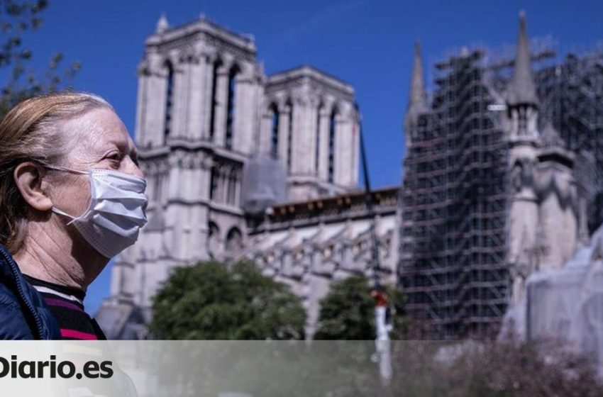 La ciudad de París y sus suburbios entran desde este lunes en zona de alerta máxima tras superar una tasa de incidencia …