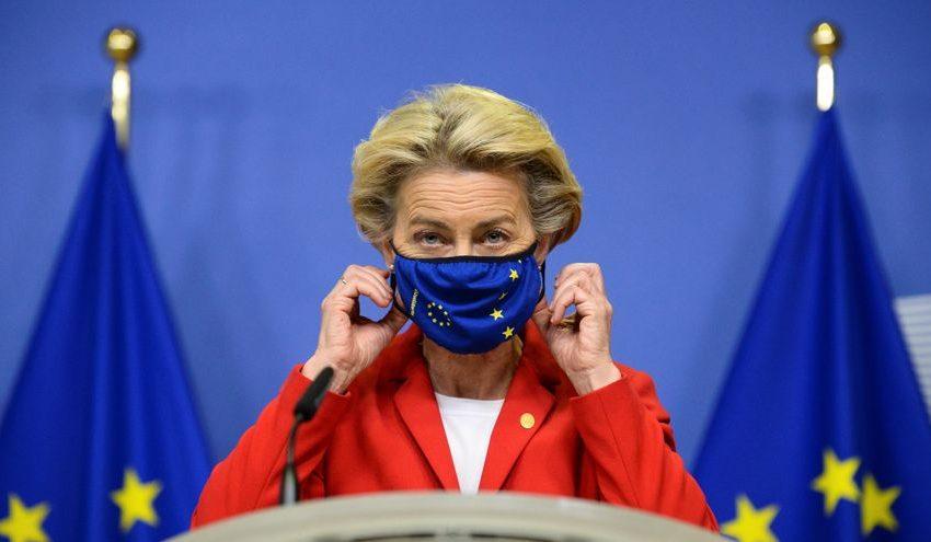 La presidenta de la Comisión Europea, Ursula von der Leyen, en cuarentena por coronavirus …