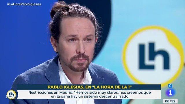 Pablo Iglesias habla sobre el avance de la elaboración de los Presupuestos y asegura que «tenemos razones para estar sat…