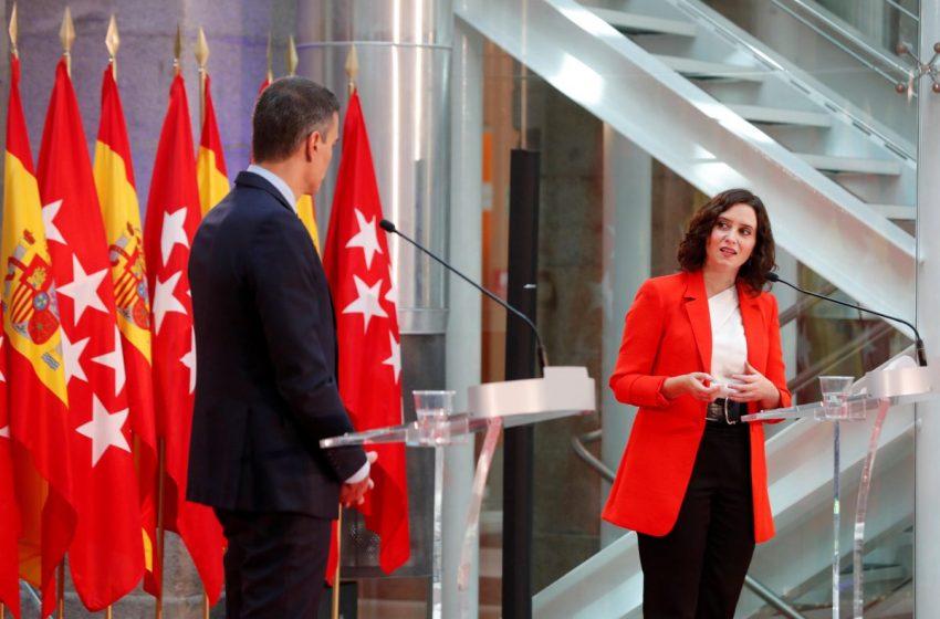 Sigue la rueda de prensa de Isabel Díaz Ayuso y Pedro Sánchez:   …