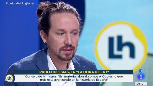 Pablo Iglesias sobre la fusión entre Caixabank y Bankia: «No siempre es sano para el sistema financiero ciertas fusiones…