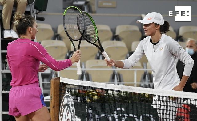 Simona Halep cae ante la joven polaca Iga Swiatek en octavos de final de #RolandGarros.   …
