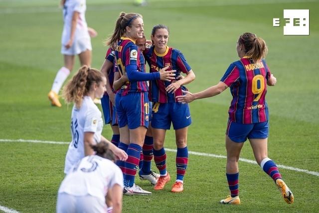 CRÓNICA | 0-4. El Barcelona pone distancia con el Real Madrid. #LigaIberdrola    …