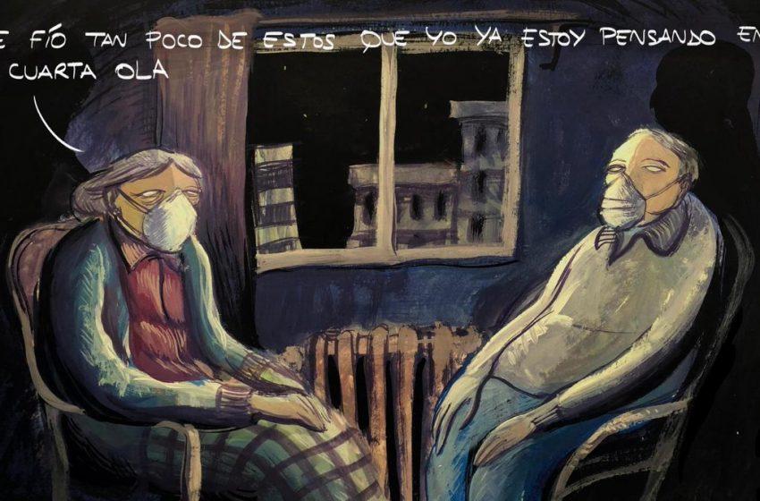 La cuarta ola, #ElZarpazo de @GuillermoEseA  #coronavirus #COVID19 #Covid_19 #SegundaOla …