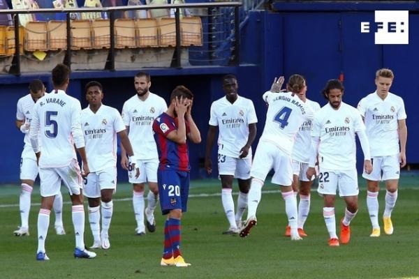 ANÁLISIS   El Real Madrid defiende su condición de campeón en el primer tramo liguero. #LaLigaSantander  Por José Antoni…