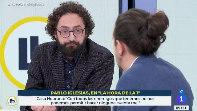 Pablo Iglesias sobre el 'caso Dina': «La Audiencia Nacional ha vuelto a decir que somos perjudicados»  #LaHoraPabloIgles…