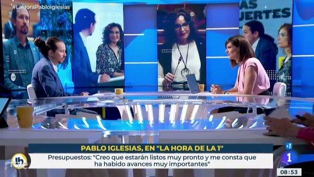 Pablo Iglesias, al ser preguntado por si habrá impuestos a los que tienen más, asegura que «habrá medidas en esa direcci…