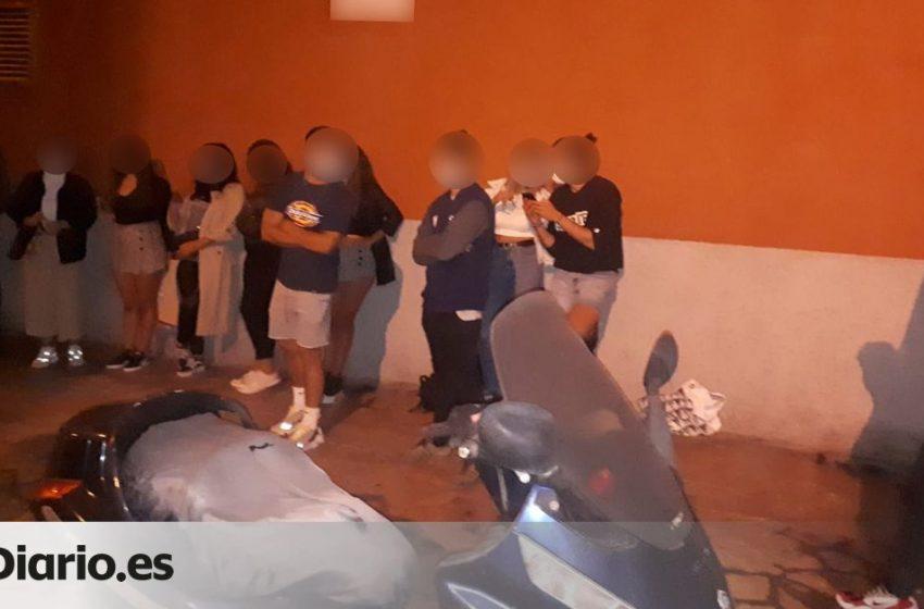La Policía Local de Las Palmas de Gran Canaria desaloja a más de 20 personas que celebraban una fiesta en una azotea …