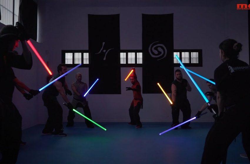 Combate Jedi: un deporte de otra galaxia