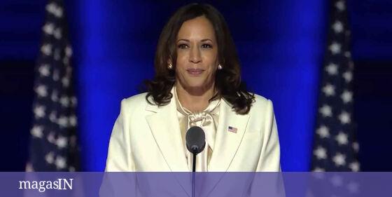 Los mensajes ocultos del primer discurso de Kamala Harris tras ser elegida vicepresidenta de EEUU. Informa @carmenserna …