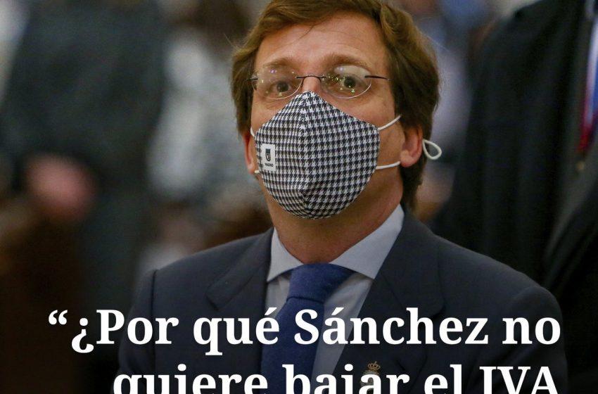 El portavoz nacional del PP, José Luis Martínez-Almeida, ha asegurado este lunes que es una «obligación moral» que Sánch…