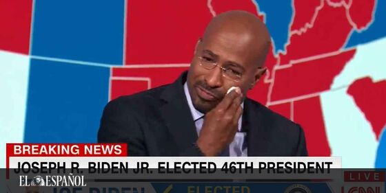 #LoMásLeído | La emotiva reacción a la victoria de Biden de un analista de la CNN: «Ser buena persona importa» …