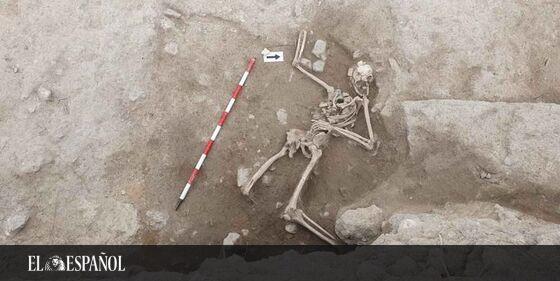 #Arqueología | La brutal muerte de un caballero medieval hallado en Alicante: ¿la más violenta de Europa? En @cultura_e…