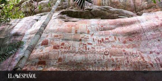 #ArteRupestre   Descubren miles de pinturas prehistóricas en Colombia: la «Capilla Sixtina de los antiguos», en @cultura…