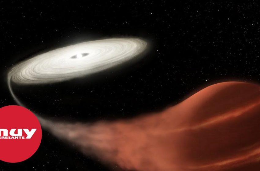 Detectan una estrella vampiro a unos 3.000 años luz