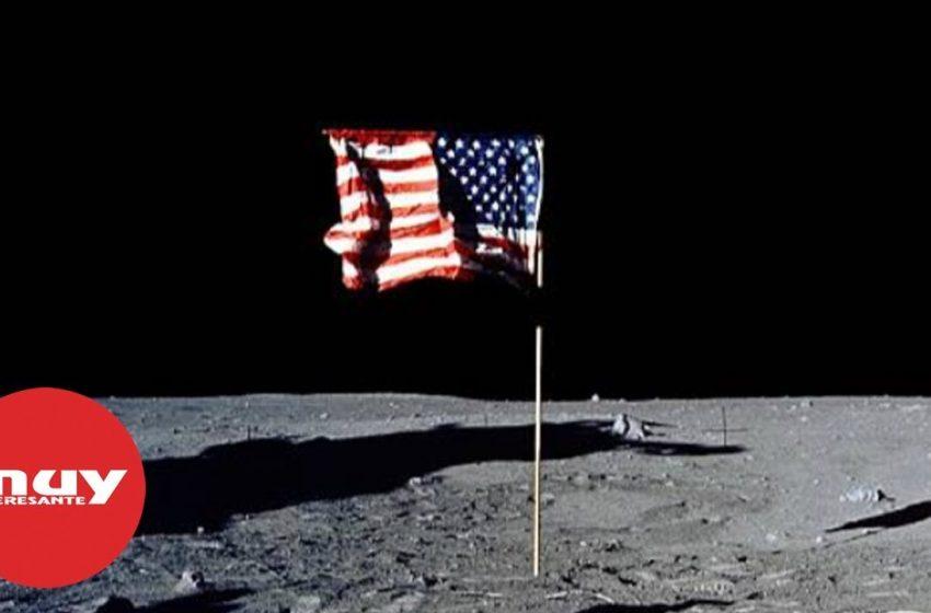 ¿Por qué 'ondea' la bandera en la Luna si no hay atmósfera?