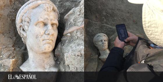 #Arqueología | Descubren un sensacional busto romano en Turquía: uno de los hallazgos «más bellos» del año, en @cultura…