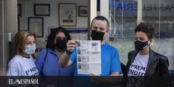 #LoteríaNavidad2020 | «Dios aprieta, pero no ahoga». La suerte de Emiliano: su suegro le regala 3 décimos del Gordo tra…