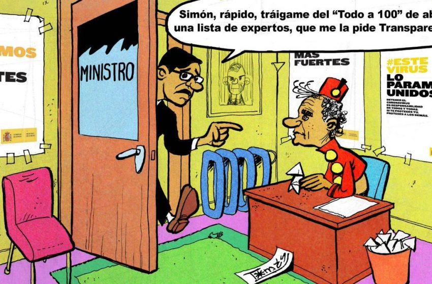 La lista de expertos #ElZarpazo de @donTomasSerrano #españa #politica #gobierno #sanidad #salvadorilla #fernandosimon #c…