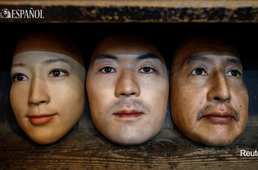 #Fotogalería | Shuhei Okawara, de 30 años, es propietario de la tienda de máscaras Kamenya Omote, en Tokio. Sus máscaras…