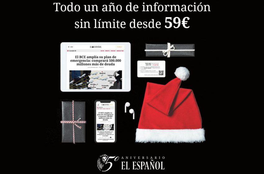 Todo un año de información sin límite para quien tú elijas desde 59€. Regala información. #HazteLeón   …