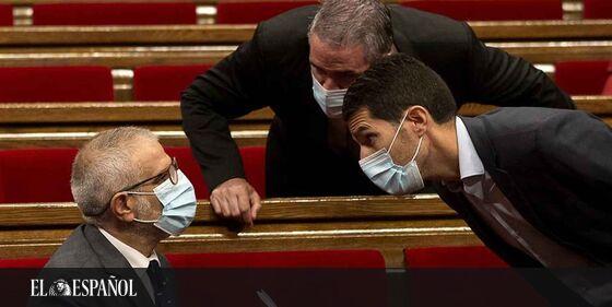 #LoMásLeído | Lanzan monedas a los trabajadores de Cs en el Parlament al grito de «¡fuera de Cataluña!» …
