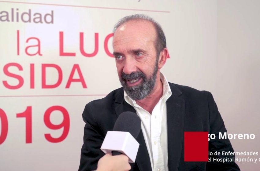 Entrevista a Santiago Moreno. Mesa redonda sobre VIH: los retos en la lucha contra el sida.
