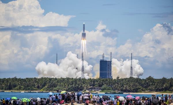 La sonda china Tianwen-1 entrará en la órbita de Marte en febrero.  Tras su lanzamiento el 23 de julio de 2020, el vehíc…