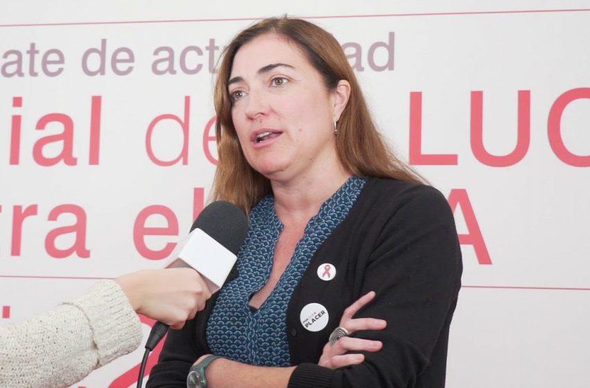 Entrevista a Mónica Morán. Mesa redonda sobre VIH: los retos en la lucha contra el sida