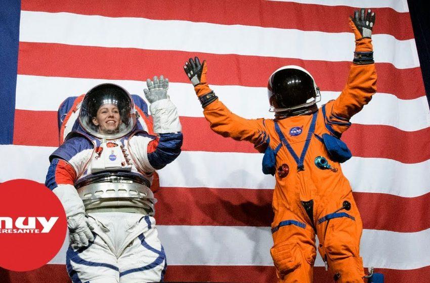 NASA presenta sus nuevos trajes espaciales