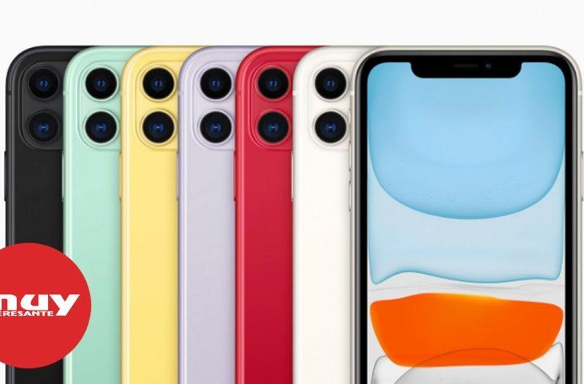 El iPhone 11, lo último de Apple