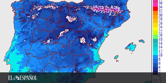 #Predicciones | Temporal de frío histórico en España: estas son las ciudades donde más nevará, en @Ciencia_EE  …