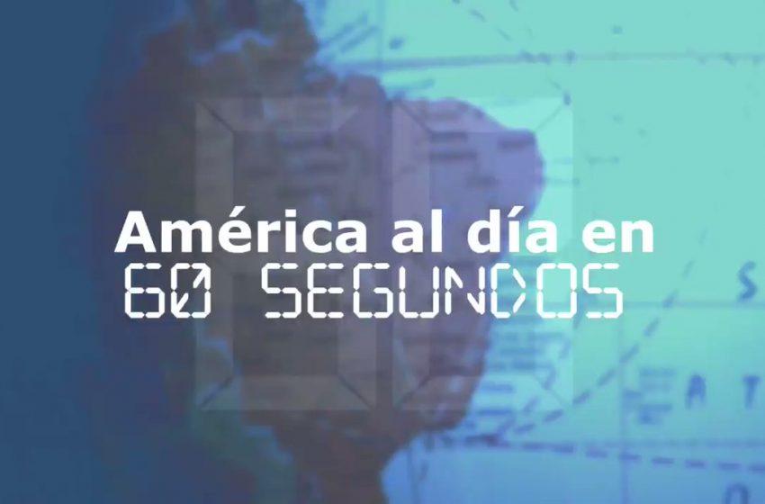 #EFETV | América al día en 60 segundos: Jueves 14 de enero de 2021 …