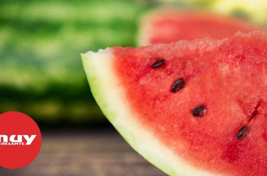 Beneficios de tomar sandía en verano