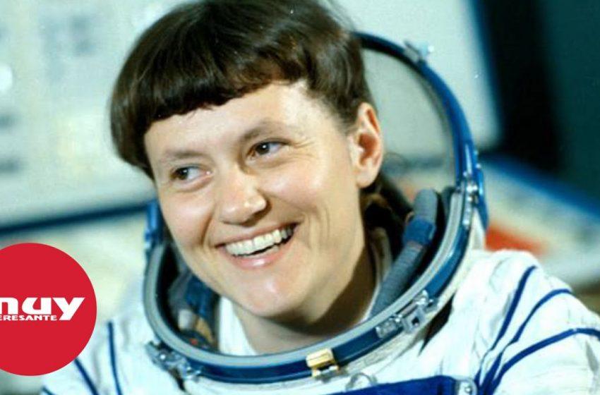 Svetlana Savitskaya, la primera mujer en dar un paseo espacial