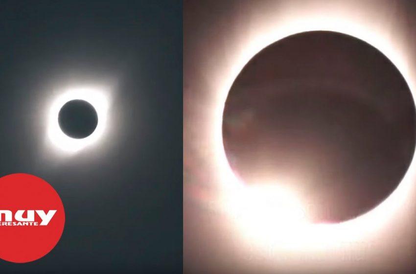 Estas son las mejores imágenes del eclipse solar