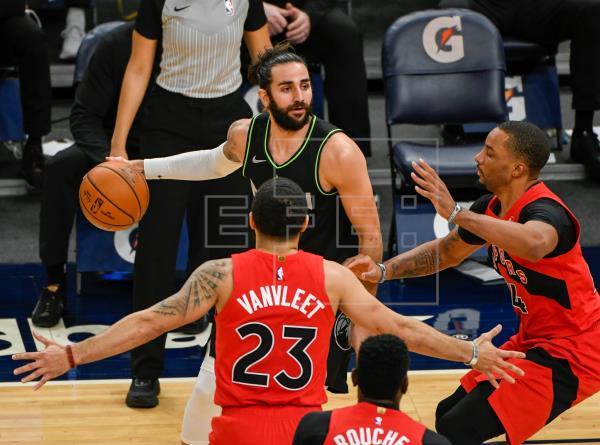 81-86. La mala defensa condena a los Wolves a la derrota frente a los Raptors.  #NBA   …