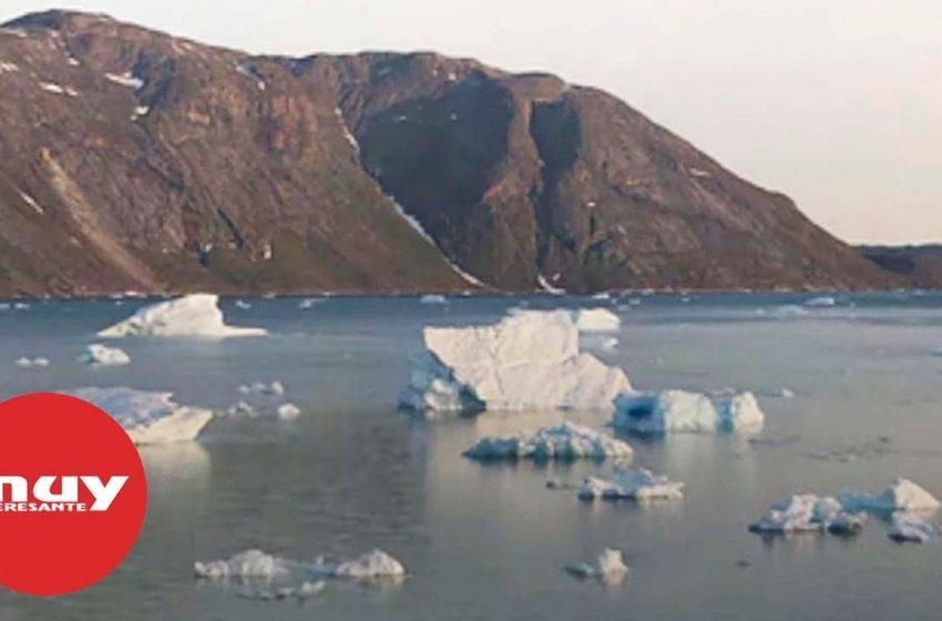 El hielo de Groenlandia se derrite a un ritmo alarmante