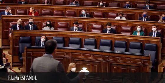 #SesiónDeControl   Sánchez ve «complejo con la ultraderecha» en el PP y Pablo Casado le pide humildad: «¡Menos lobos!», …