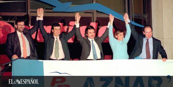 #25Aniversario   1996: cuando 156 diputados parecían pocos y el PP llenaba Mestalla con un mitin, por @anaigracia …