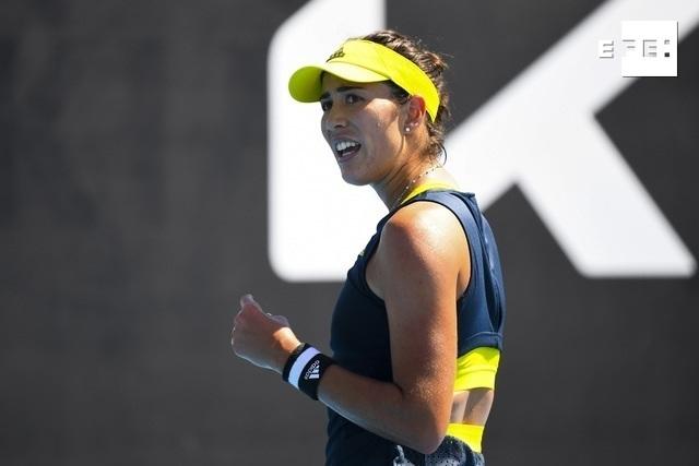 La española Garbiñe Muguruza (14) no se arrugó para superar en su segunda prueba del Abierto de Australia a la rusa Liud…