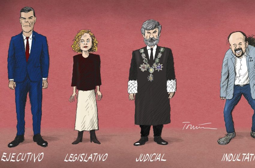 El cuarto poder #ElZarpazo por @donTomasSerrano #españa #politica #gobierno #cgpj #pedrosanchez #meritxellbatet #pabloig…