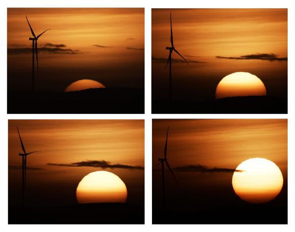 #EFEFotos | Vista del amanecer desde la Sierra de El perdón, en Navarra.   Por Jesús Diges …