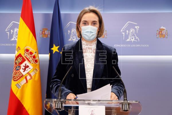 La portavoz del PP en el Congreso, Cuca Gamarra, ha afirmado que el debate sobre las manifestaciones del #8M «es una ané…
