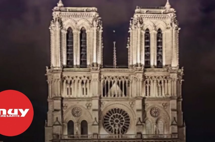 La catedral de Notre-Dame en cifras